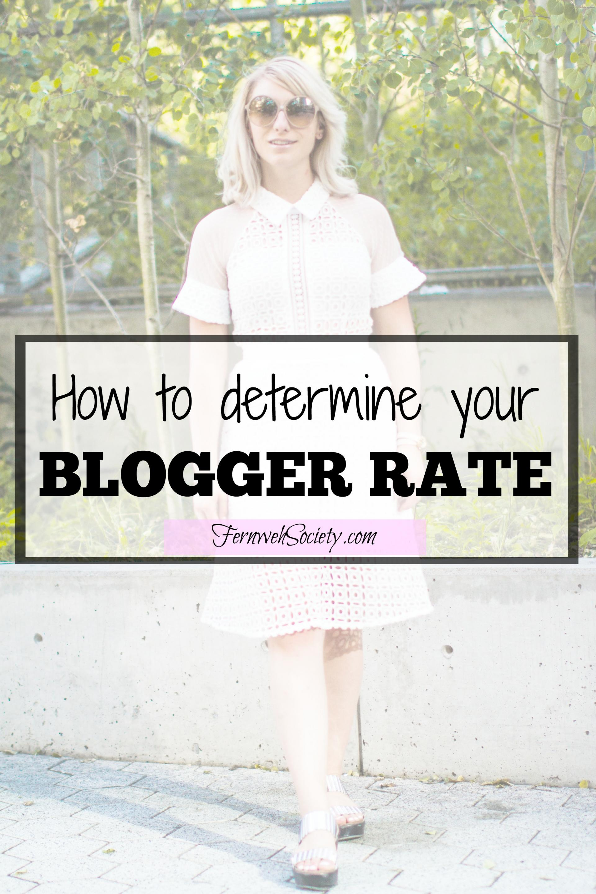 blogger rate