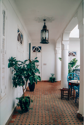 travel inspiration moroccan riad