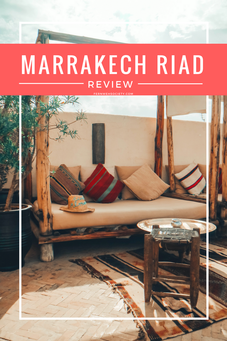 title page Marrakech Riads